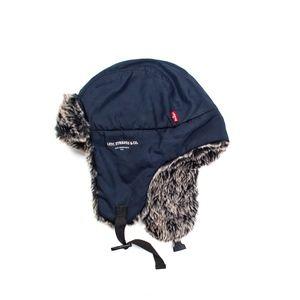Levi Strauss Faux Fur Trapper Hat
